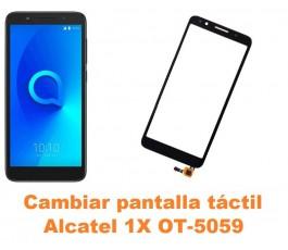 Cambiar pantalla táctil cristal Alcatel OT-5059 1X