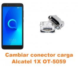 Cambiar conector carga Alcatel OT-5059 1X