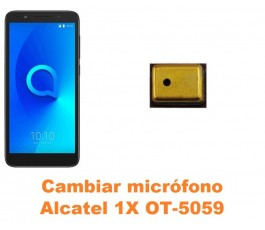 Cambiar micrófono Alcatel OT-5059 1X