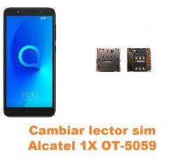 Cambiar lector sim Alcatel OT-5059 1X