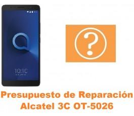 Presupuesto de reparación Alcatel OT-5026 3C