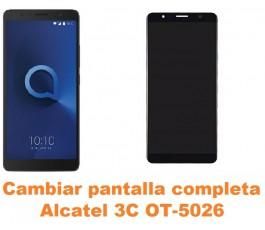 Cambiar pantalla completa Alcatel OT-5026 3C
