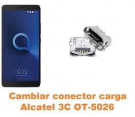 Cambiar conector carga Alcatel OT-5026 3C