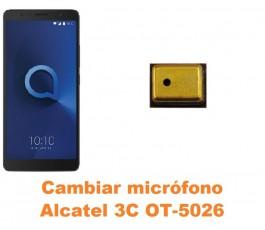 Cambiar micrófono Alcatel OT-5026 3C
