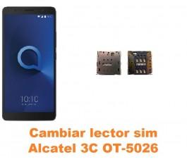 Cambiar lector sim Alcatel OT-5026 3C
