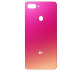 Tapa trasera para Xiaomi Mi 8 Lite Rosa