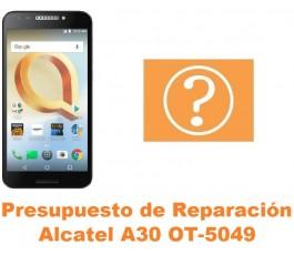Presupuesto de reparación Alcatel OT-5049 A30