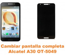 Cambiar pantalla completa Alcatel OT-5049 A30