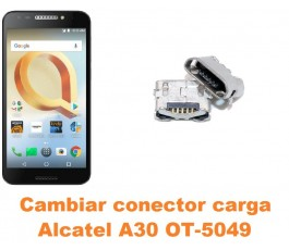 Cambiar conector carga Alcatel OT-5049 A30