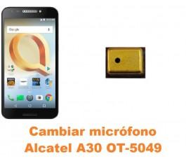 Cambiar micrófono Alcatel OT-5049 A30