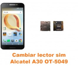 Cambiar lector sim Alcatel OT-5049 A30