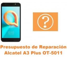 Presupuesto de reparación Alcatel OT-5011 A3 Plus
