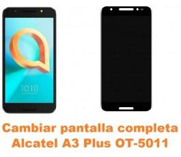 Cambiar pantalla completa Alcatel OT-5011 A3 Plus
