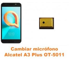 Cambiar micrófono Alcatel OT-5011 A3 Plus