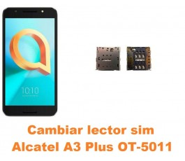 Cambiar lector sim Alcatel OT-5011 A3 Plus