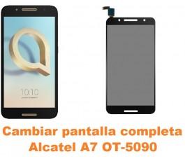 Cambiar pantalla completa Alcatel OT-5090 A7