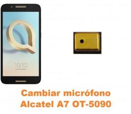 Cambiar micrófono Alcatel OT-5090 A7