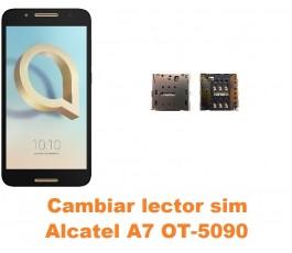 Cambiar lector sim Alcatel OT-5090 A7