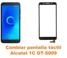 Cambiar pantalla táctil cristal Alcatel OT-5009 1C