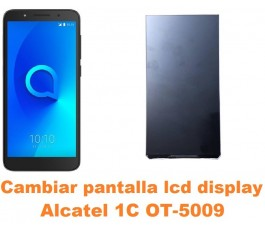 Cambiar pantalla lcd display Alcatel OT-5009 1C