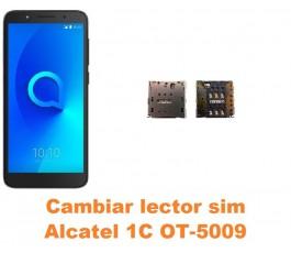 Cambiar lector sim Alcatel OT-5009 1C