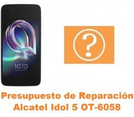 Presupuesto de reparación Alcatel OT-6058 Idol 5 5.2´