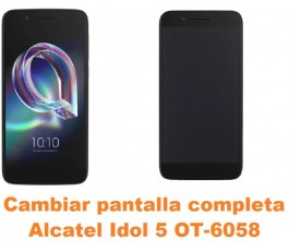 Cambiar pantalla completa Alcatel OT-6058 Idol 5 5.2´