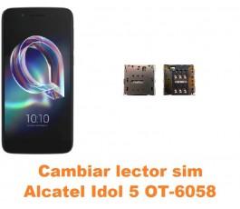 Cambiar lector sim Alcatel OT-6058 Idol 5 5.2´