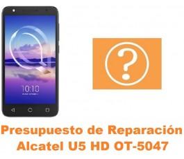 Presupuesto de reparación Alcatel OT-5047 U5 HD