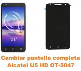 Cambiar pantalla completa Alcatel OT-5047 U5 HD