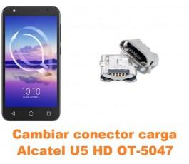 Cambiar conector carga Alcatel OT-5047 U5 HD