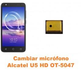 Cambiar micrófono Alcatel OT-5047 U5 HD