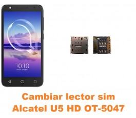 Cambiar lector sim Alcatel OT-5047 U5 HD