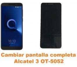Cambiar pantalla completa Alcatel OT-5052 3