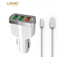 Cargador de coche micro USB Ldnio C702Q