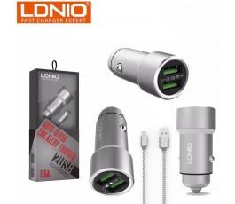 Cargador de coche micro USB Ldnio C302