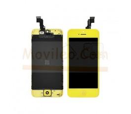 Pantalla completa amarilla para iPhone 5C - Imagen 1