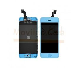 Pantalla completa azul para iPhone 5C - Imagen 1