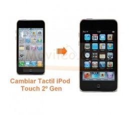 Cambiar Pantalla Tactil Digitalizador iPod Touch 2º Generacion - Imagen 1