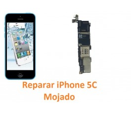 Reparar iPhone 5C MOJADO