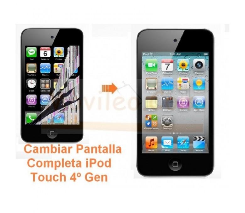 Cambiar Pantalla Completa iPod Touch 4º Generacion