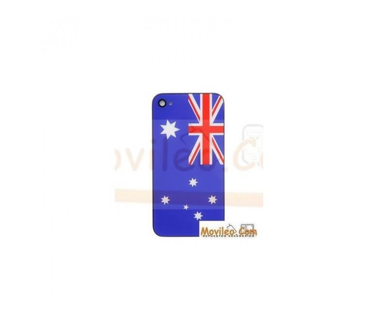 Carcasa trasera, tapa de batería bandera Australiana para iPhone 4 - Imagen 1
