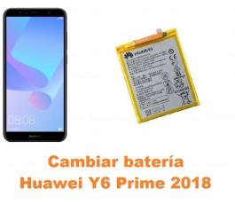 Cambiar batería Huawei Y6...