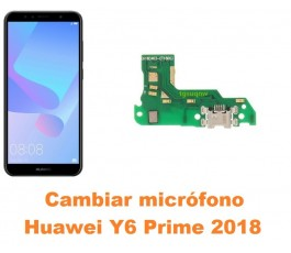 Cambiar micrófono Huawei Y6...