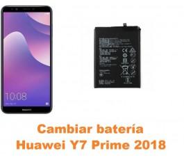 Cambiar batería Huawei Y7...