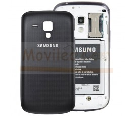 Tapa Trasera Negra Samsung Galaxy S Duos S7562 - Imagen 1