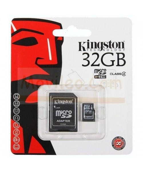 TARJETA MEMORIA MICROSD 32GB KINGSTON - Imagen 1