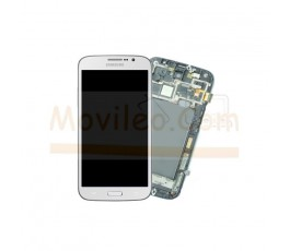 Pantalla Completa Blanca Con Marco para Samsung Galaxy Mega i9200 i9205 - Imagen 1