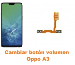 Cambiar botón volumen Oppo A3