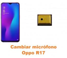 Cambiar micrófono Oppo R17